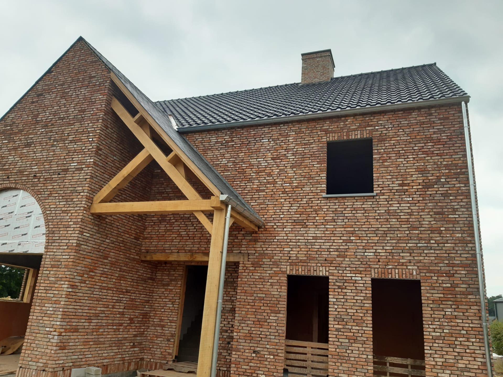 Nieuwbouw Opglabbeek, van kelder tot en met dakwerken