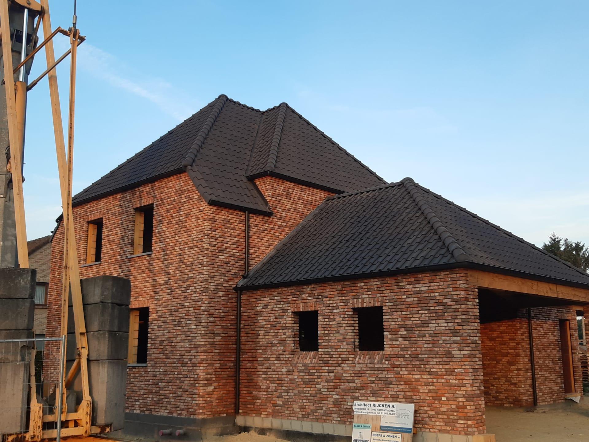 Dakwerken Peer : Nieuwbouw